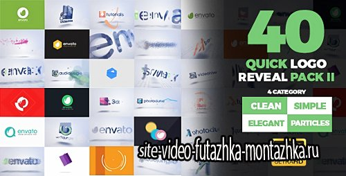 Quick Logo Reveal Pack 2 - Project for After Effects (Videohive)