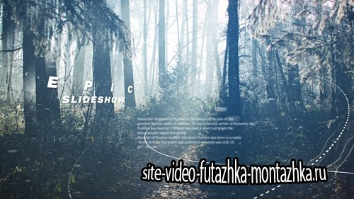 Epic Slideshow - Project for After Effects (Videohive)