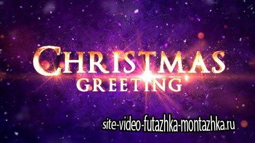 Christmas Greeting Titles - Project for After Effects (Videohive)