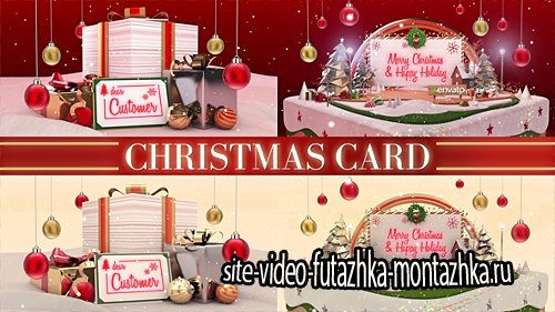 Christmas Card - Project for After Effects (Videohive)