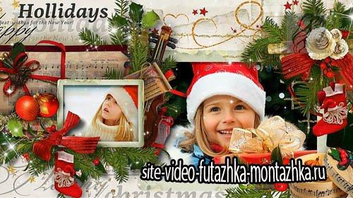 С счастливым Рождеством! - детский проект для ProShow Producer
