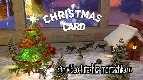 Christmas Сard - Project for After Effects (Videohive)