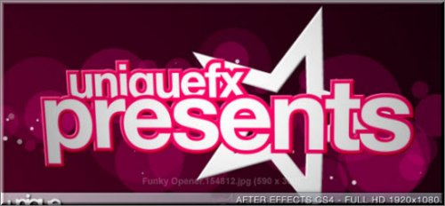 Funky Opener - VideoHive -  After Effects prodject