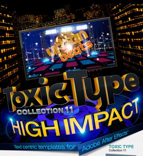 Digital Juice Toxic Type Collection 11: High Impact (for After Effects)