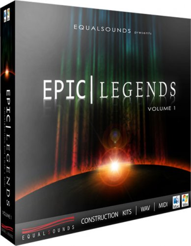 Equalsounds Epic Legends Vol 1 WAV MiDi