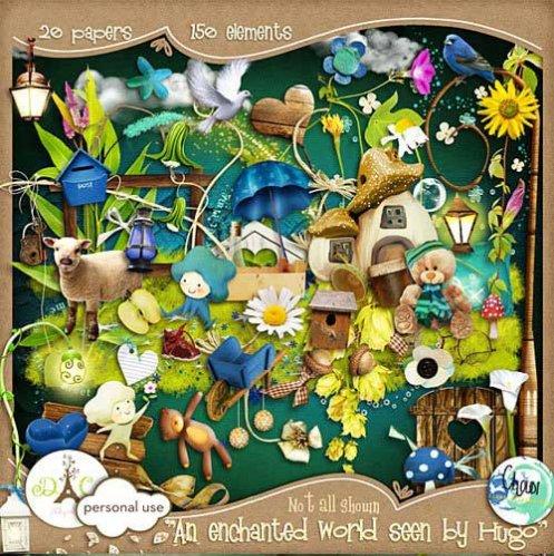 Детский скрап-набор - Увидеть волшебный мир