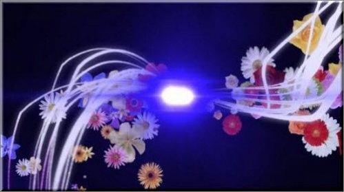 Футаж - Всплеск с альфа каналом