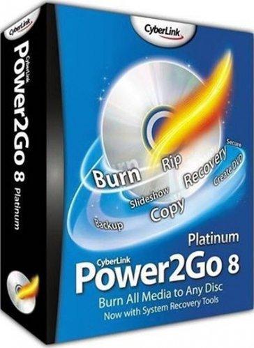 CyberLink Power2Go 8 Essential 8.0.0.2126b ML/RUS