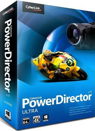 CyberLink PowerDirector 11 Ultra 11.0.0.2812 (2013/MUL/RUS)