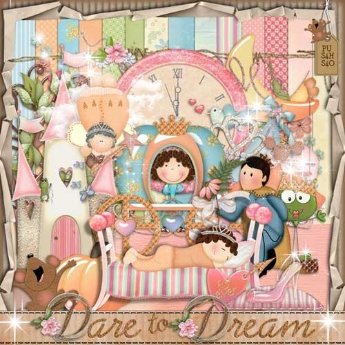Детский скрап-набор - Мечтания