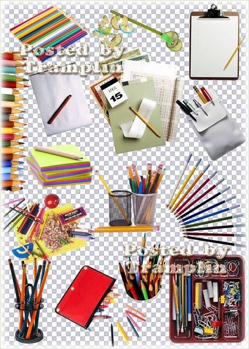 Канцелярские изделия - Цветные карандаши, ручки, бумага, подставки, пеналы, точилки, фломастеры