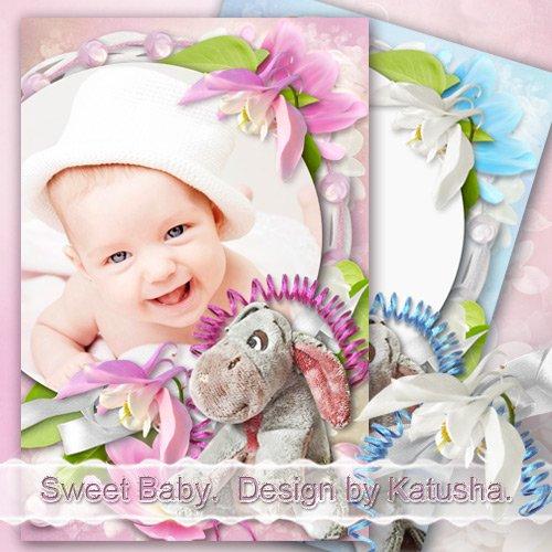 Рамки для самых маленьких - Очаровательный малыш