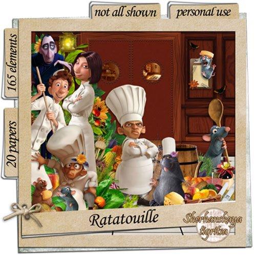 Детский поварской скрап-набор - Рататуй