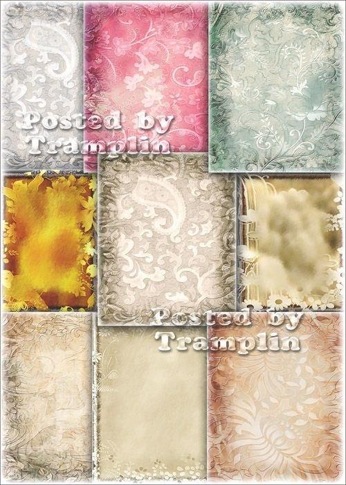 Декоративные фоны – Основа текстуры под ворс