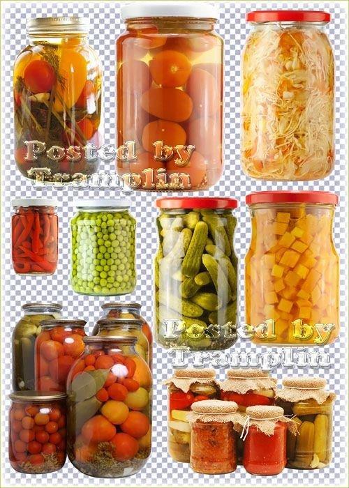 Маринованные овощи - Соленья на зиму – огурцы, помидоры, перец, чеснок, горох