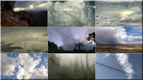 Dramatic Clouds - Time Lapse Stock Video Footages HD