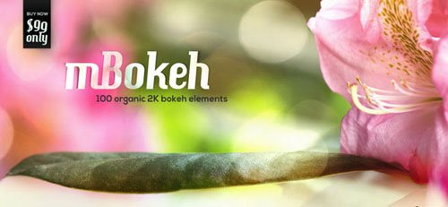 motionVFX - mBokeh (100 Organic 2K Bokeh QT Files)