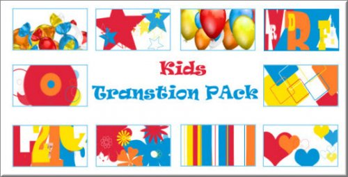 Videohive -  Kids Transition Pack