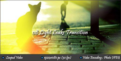 Light Leaks Transition (Motion Grafics)