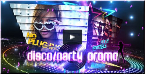 After Effects Project Videohive - Disco/Party Promo