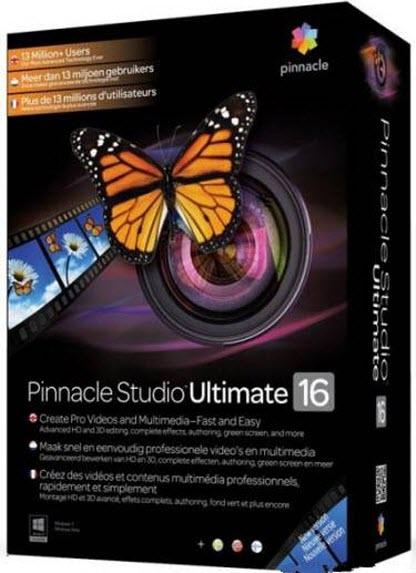 Pinnacle Studio 16 Ultimate 16.0.1.98 Final + Content (2012/Ml/RUS)
