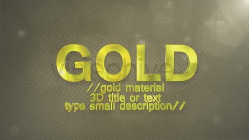Materials - Project for After Effects (Videohive)