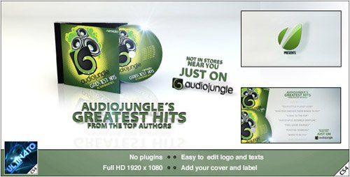 CD Promotion - Project for After Effects (Videohive)
