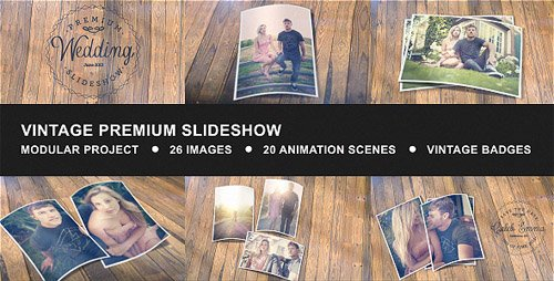 Vintage Premium Slideshow - Project for After Effects (Videohive)