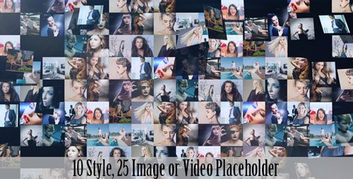 Videohive   Multi-Image Logo Reveal V.2 (10in1)