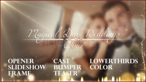 After Effect Project - Magical Day Weddings Pack