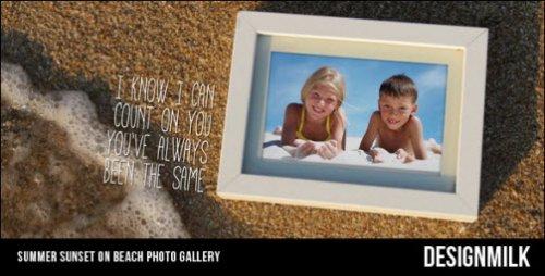 Videohive - Summer Sunset on Beach Photo Gallery