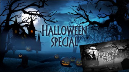 After Effect Project - Halloween Special Promo