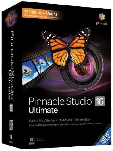 Pinnacle Studio 16 Ultimate V16.1 XFORCE