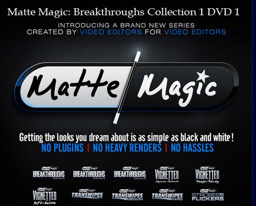 Matte Magic: Breakthroughs Collection 1 DVD 1