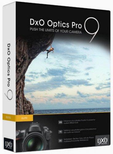 DxO Optics Pro 9.0.0 Build 1394 Elite (2013/RUS/ENG)