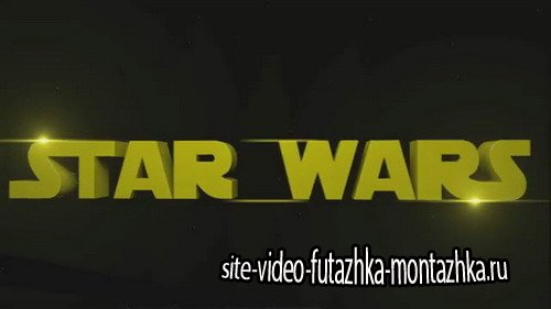 Star Wars Intro - After Effects Template