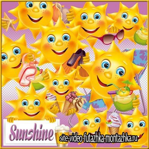 Солнечный скрап-комплект - солнышко