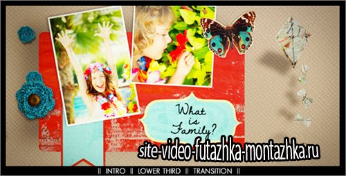 After Effect Project - Scrapbooking Story Pack