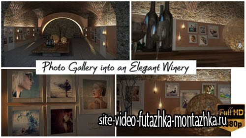 After Effect Project - Photo Gallery In An Elegant Winery