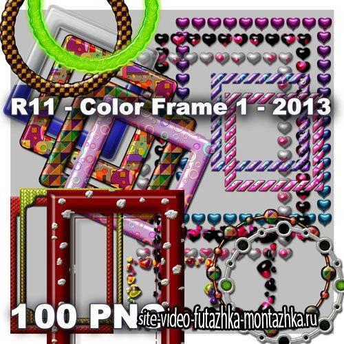 Color Frame 1 PNG Files