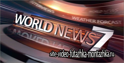 After Effect Project - World News Broadcast Package