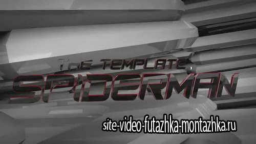 The Amazing Spiderman Title - Project for After Effects