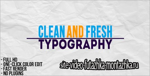 After Effect Project - Typographic Presentation