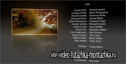 After Effect Project - Film Credits