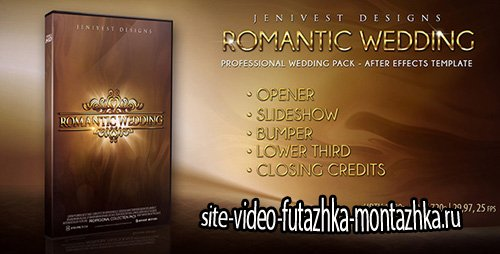 Romantic Wedding 5600098 - Project for After Effects (Videohive)