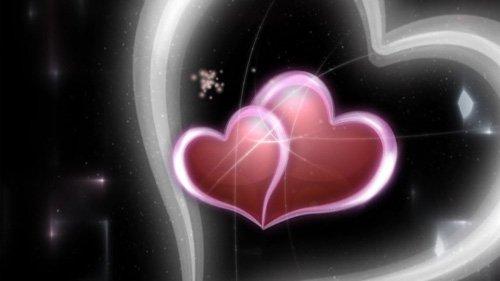 Футаж Переход сердца HD