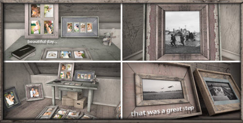 After Effect Project - Old Photo Frames