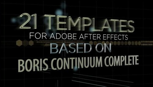 Broadcast Graphics Templates Vol. 1 - Project for After Effects
