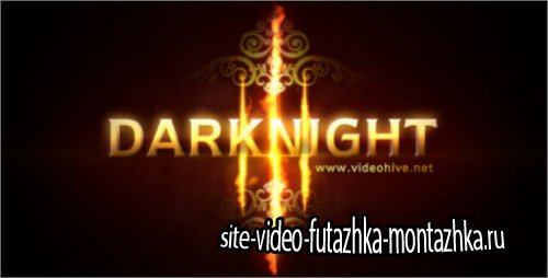 After Effect Project - Darknight Logo Reveal