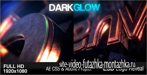 After Effect Project - Dark Glow Logo Reveal